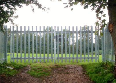 Steel Palisade Gates