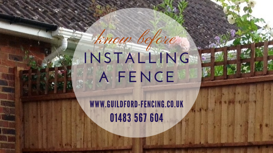Key Things to Think about Before Opting for Fencing