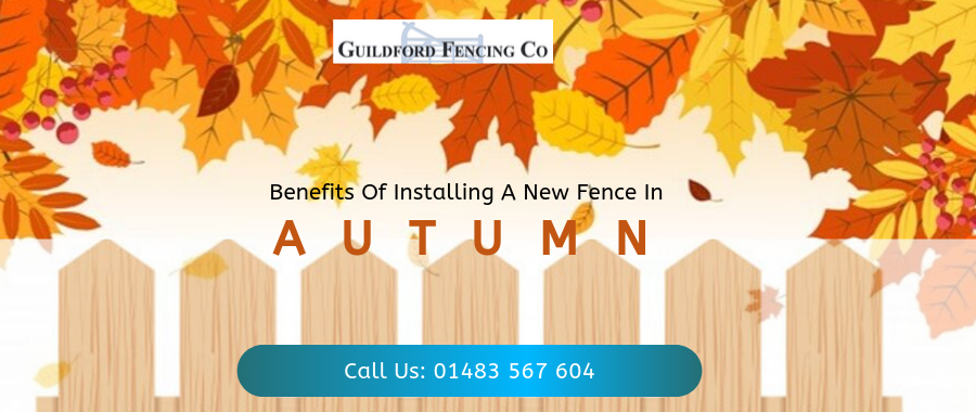 Why Is Autumn The Ideal Time To Install New Residential Fencing?