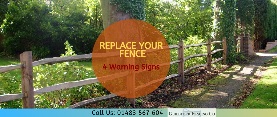 Replace Your Fence Before It's Too Late: 4 Warning Signs