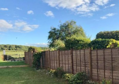 Waney Edge, Timber Posts and Gravel Boards