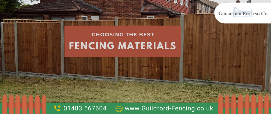 Choosing The Best Fencing Material Is Now Easy
